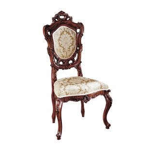 Toulon French Rococo Fabric Side Chair by..