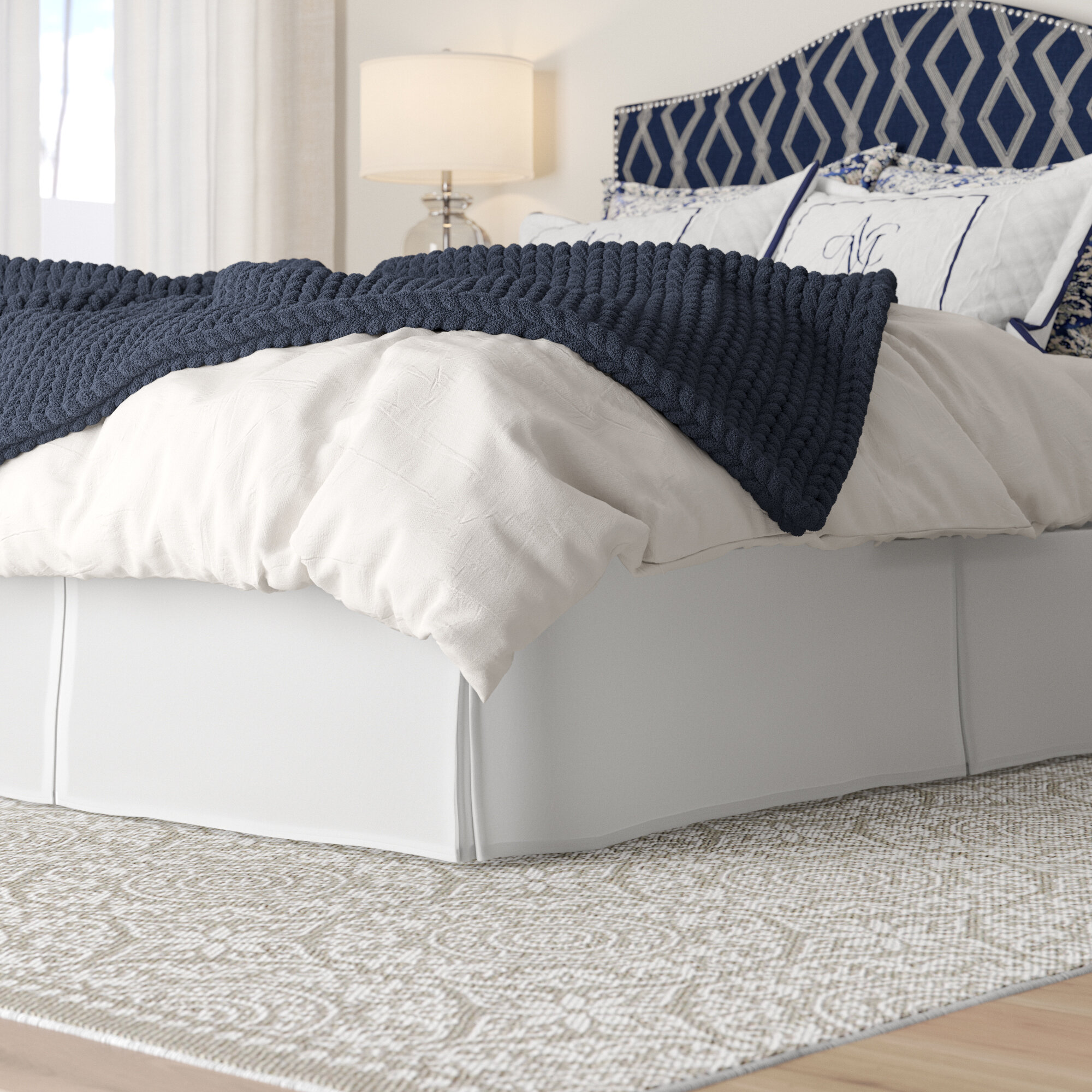 Alwyn Home Chavez 16 Bed Skirt Reviews Wayfair