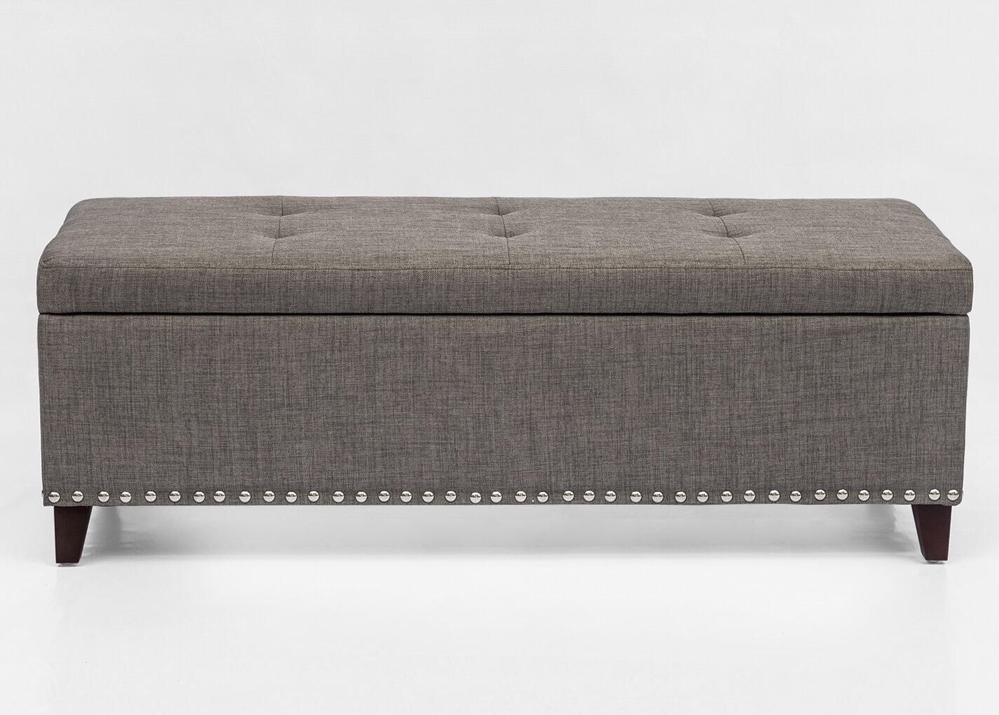 Alcott Hill Bettie Upholstered Storage Bench Reviews Wayfair