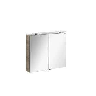 Luxor 80 X 80cm Wall Mounted Cabinet By Fackelmann