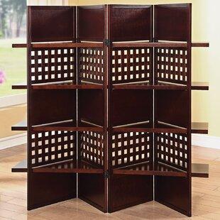 Malek 4 Panel Room Divider by Red Barrel Studio