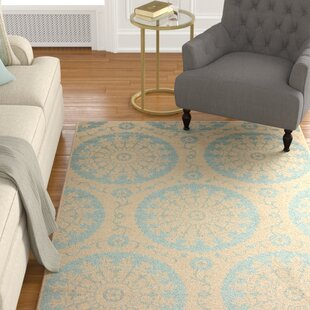 Keough Beige Indoor/Outdoor Area Rug