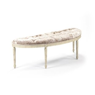 Louis Upholstered Bench by Zentique Best #1