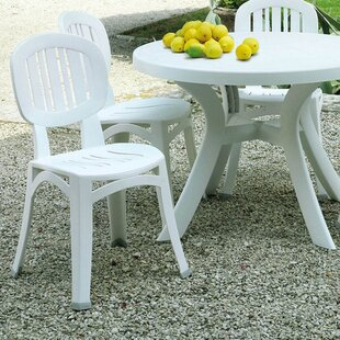 Byrge Stacking Dining Chair By Sol 72 Outdoor