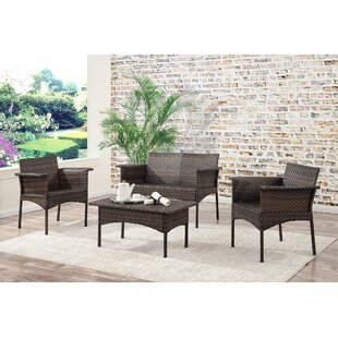 Albia 4 Piece Sofa Set