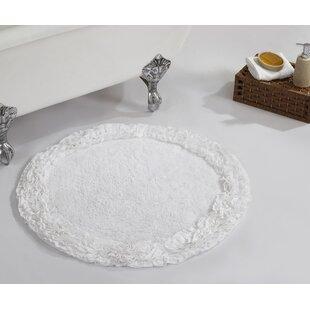Marron Ruffle Bath Rug by House of Hampton Spacial Price