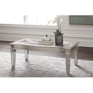 Thaddeus Coffee Table by House of Hampton Best #1