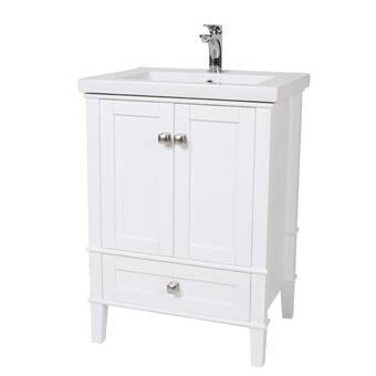 Modena 24 Single Bathroom Vanity Set Reviews Allmodern