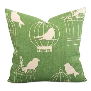 Smithers Songbird Linen Pillow Cover