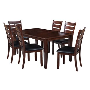 TTP Furnish Aden 7 Piece Dining Set