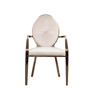 Fraise Upholstered Dining Chair (Set of 2) Everly Quinn