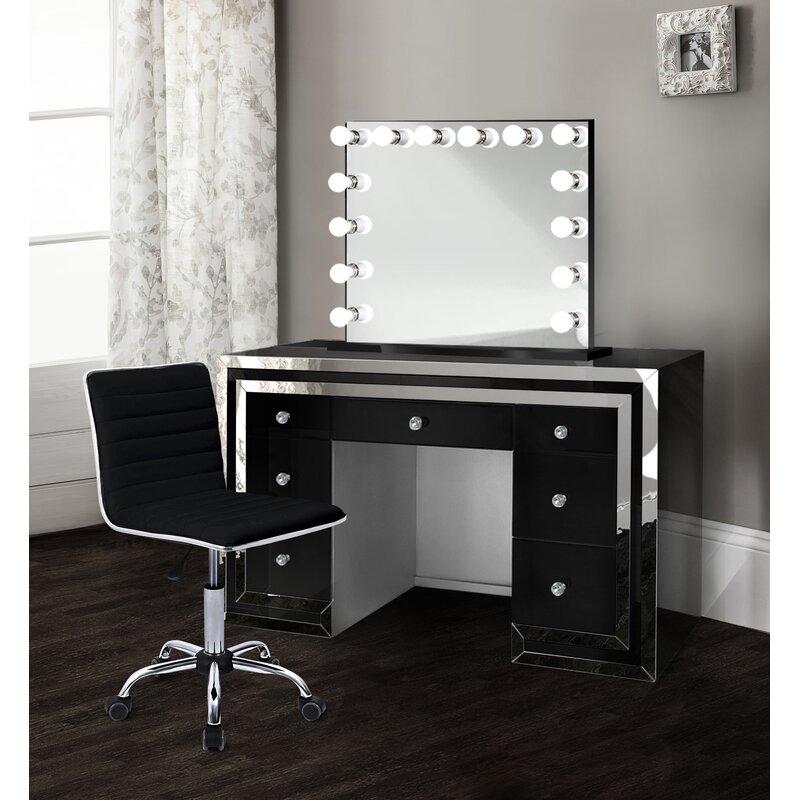 Everly Quinn Cardone Makeup Station