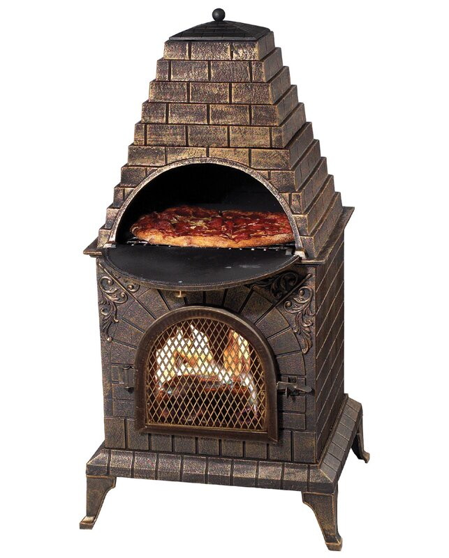 Wayfair Deeco Aztec Allure Pizza Oven