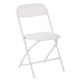 Metal and Plastic Folding Chair (Set of 2) by Office Star Products