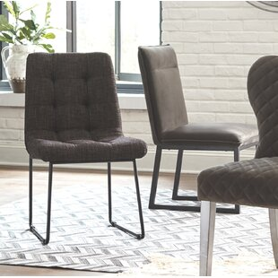 Hillwill Upholstered Dining Chair (Set of 2) Ivy Bronx
