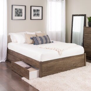 Sagamore 4 Post Storage Platform Bed