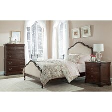 Provence Upholstered Panel Bed by Cresent Furniture