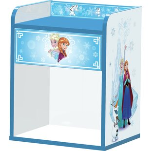 Frozen 1 Drawer Bedside Table by Zoomie Kids