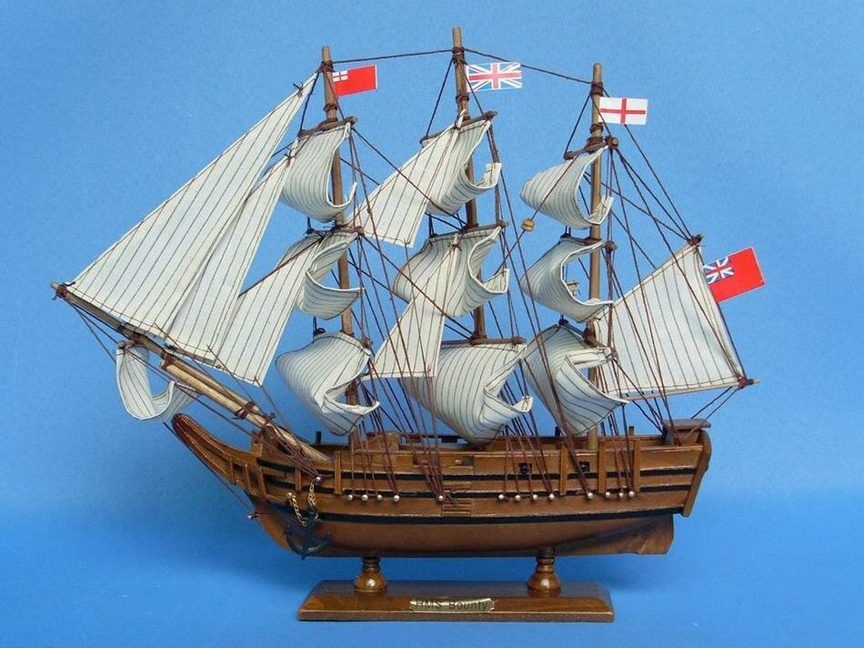Breakwater Bay Elmhur Bounty Model Ship Wayfair
