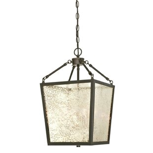 Budget Khan 4-Light Lantern Pendant By Darby Home Co