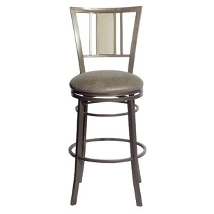 Parrott 30'' Swivel Bar Stool Charlton Home