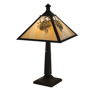 Wallingford Winter Pine 24 Table Lamp