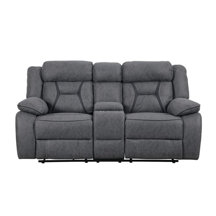 Astounding Tien Reclining Motion Loveseat With Console Gamerscity Chair Design For Home Gamerscityorg