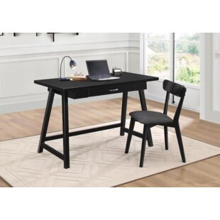 Brayden Studio Shipp Writing Desk and Chair Set