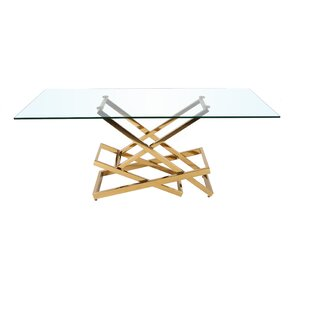 Rowley Dining Table by Everly Quinn