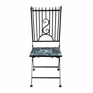 Merrionette Mosaic Metal Patio Dining Chair