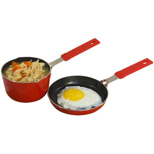 Mini Aluminum 2 Piece Cookware Set