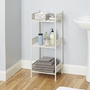 White Bathroom Ladder Shelf | Wayfair