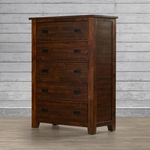 Loon Peak Oilton 5 Drawer Media Chest