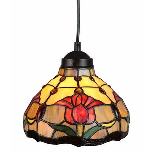 Amora Lighting Tulips 1-Light Inverted Pendant