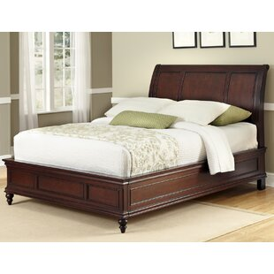 Rossie Sleigh Bed by Astoria Grand Purchase
