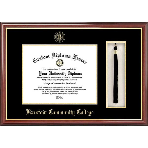 Diploma Frame Deals Barstow Community College Petite Tassel Picture Frame