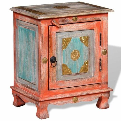 Nachttisch Paddington   Schlafzimmer > Nachttische   Orange   Mangoholz   BohoLiving
