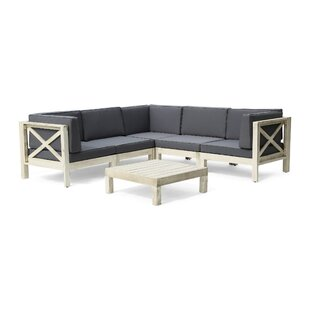 Anneke 2 Piece Sectional Seating Group with Cushions