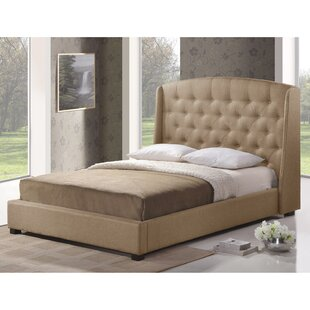Dascomb Upholstered Platform Bed by Alcott Hill
