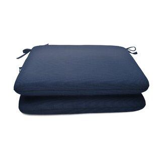 Indoor/Outdoor Sunbrella Dining Chair Cushion (Set of 2)