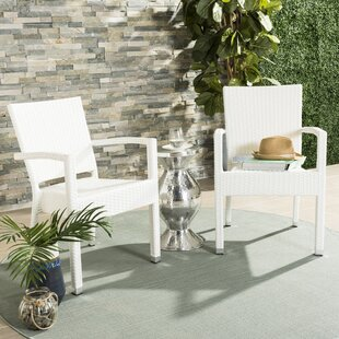 Key Vista Stacking Patio Dining Chair (Set of 2)