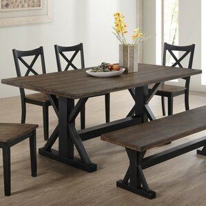 Landrum Dining Table by Simmons Casegoods by World Menagerie