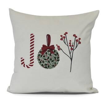 East Urban Home Dash And Ash All I Want For Christmas Euro Pillow Wayfair