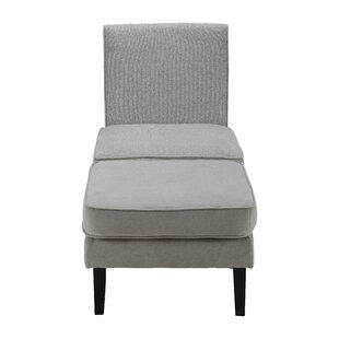 Olivia Slipper Chair by Elle Decor