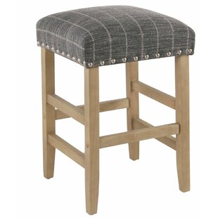 Emmi Wooden 24.5 Bar Stool by August Grove