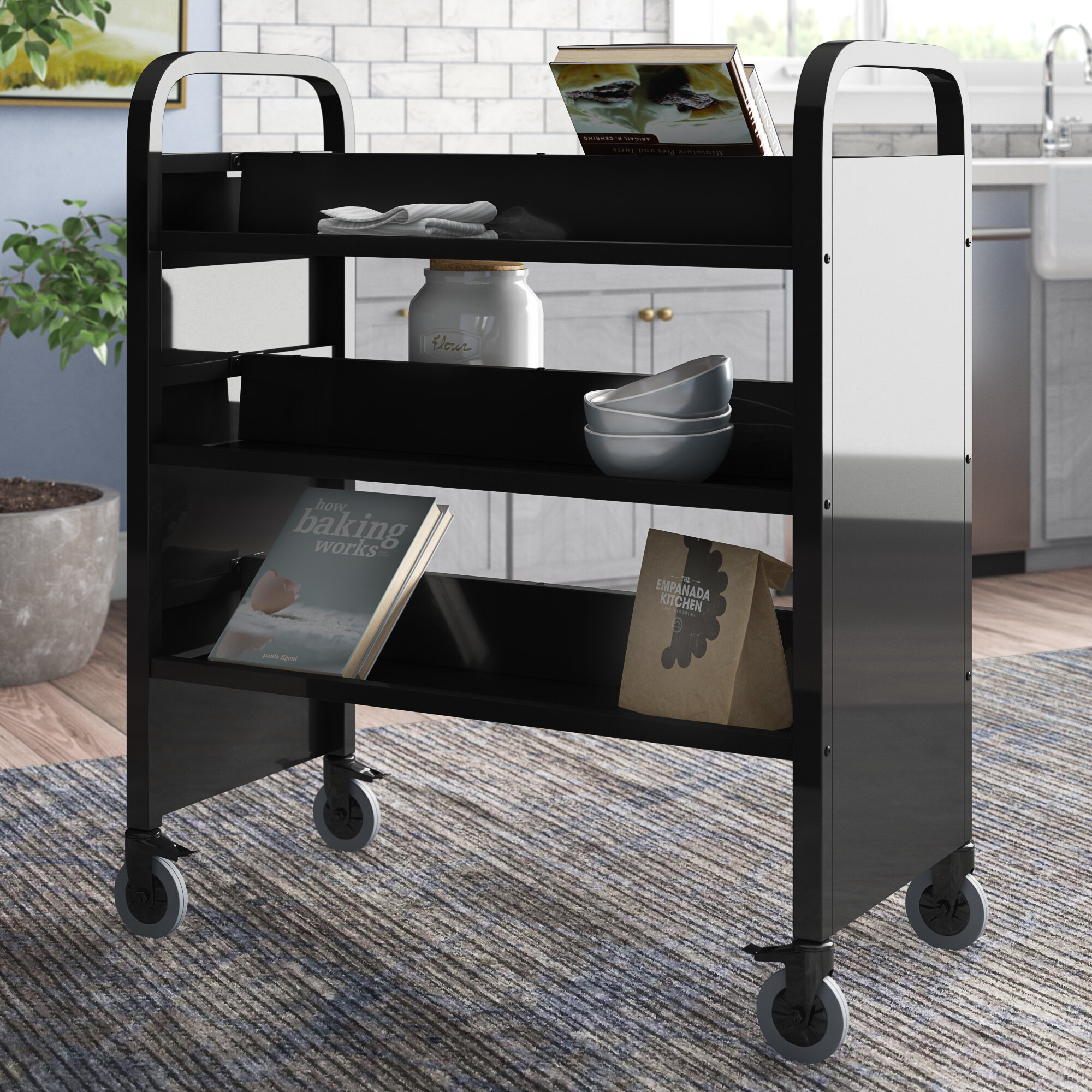 Commercial Use Book Carts You Ll Love In 2021 Wayfair