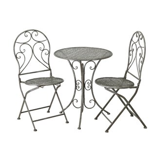 Gabaldon 2 Seater Bistro Set By Lily Manor