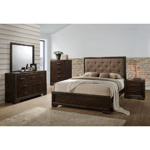 Wethington Queen Panel 5 Piece Bedroom Set