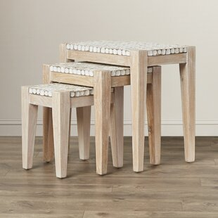 Find for Sherlyn 3 Piece Nesting Table Set by Beachcrest Home