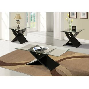 Kommini 3 Piece Coffee Table Set